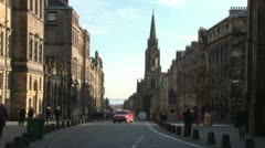 Royal Mile - stock footage