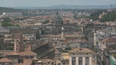 Roman Skyline Stock Footage