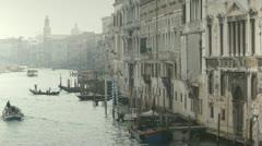 Venice Canal Grande Stock Footage