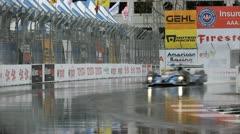 ALMS Toyota Grand Prix of Long Beach Street Circuit 2012 - 9 Stock Footage