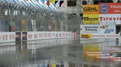ALMS Toyota Grand Prix of Long Beach Street Circuit 2012 - 104 - stock footage