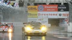 ALMS Toyota Grand Prix of Long Beach Street Circuit 2012 - 98 - stock footage