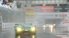 ALMS Toyota Grand Prix of Long Beach Street Circuit 2012 - 91 - stock footage