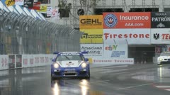 ALMS Toyota Grand Prix of Long Beach Street Circuit 2012 - 62 Stock Footage