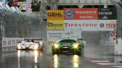 ALMS Toyota Grand Prix of Long Beach Street Circuit 2012 - 69 - stock footage