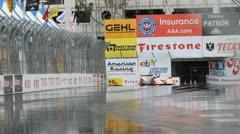 ALMS Toyota Grand Prix of Long Beach Street Circuit 2012 - 63 - stock footage