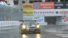 ALMS Toyota Grand Prix of Long Beach Street Circuit 2012 - 83 Stock Footage