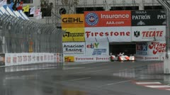 ALMS Toyota Grand Prix of Long Beach Street Circuit 2012 - 54 Stock Footage