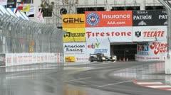 ALMS Toyota Grand Prix of Long Beach Street Circuit 2012 - 53 Stock Footage