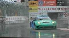 ALMS Toyota Grand Prix of Long Beach Street Circuit 2012 - 40 Stock Footage