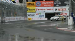 ALMS Toyota Grand Prix of Long Beach Street Circuit 2012 - 39 Stock Footage