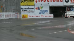 ALMS Toyota Grand Prix of Long Beach Street Circuit 2012 - 38 - stock footage