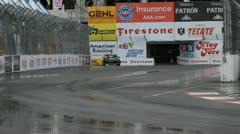 ALMS Toyota Grand Prix of Long Beach Street Circuit 2012 - 36 Stock Footage