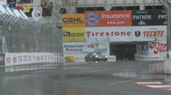 ALMS Toyota Grand Prix of Long Beach Street Circuit 2012 - 26 - stock footage