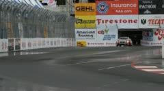 ALMS Toyota Grand Prix of Long Beach Street Circuit 2012 - 21 Stock Footage