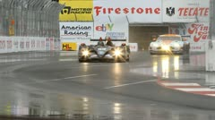 ALMS Toyota Grand Prix of Long Beach Street Circuit 2012 - 16 Stock Footage