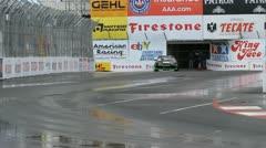 ALMS Toyota Grand Prix of Long Beach Street Circuit 2012 - 13 Stock Footage