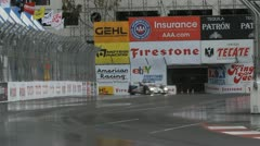 ALMS Toyota Grand Prix of Long Beach Street Circuit 2012 - 11 - stock footage