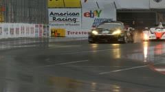 ALMS Toyota Grand Prix of Long Beach Street Circuit 2012 - 59 - stock footage
