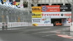 ALMS Toyota Grand Prix of Long Beach Street Circuit 2012 - 57 Stock Footage