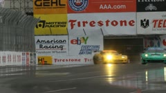 ALMS Toyota Grand Prix of Long Beach Street Circuit 2012 - 87 Stock Footage