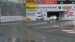 ALMS Toyota Grand Prix of Long Beach Street Circuit 2012 - 4 Stock Footage