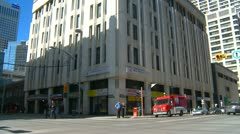Herald Building, Calgary. Slated for demolition Stock Footage