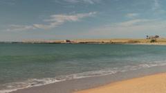 May Field Beach, East Coast Tasmania Stock Footage