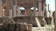 Stock Video Footage of The Forum at Leptis Magna, Libya