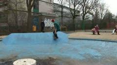Skateboarding Stock Footage