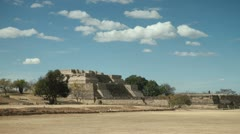 Mayan ruins mexico monte alban Stock Footage