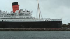 Queen Mary - stock footage
