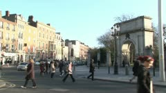 Stephen's Green Stock Footage