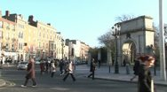 Stock Video Footage of Stephen's Green