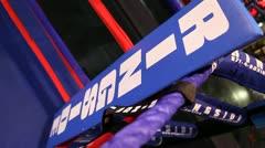 Boxing Ring Corner Stock Footage