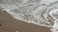 The waves of the beach on the Pacific Ocean Stock Footage