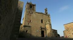 Spain Extremadura Caceres Basilica San Mateo 3 Stock Footage