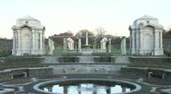 Stock Video Footage of Irish National War Memorial Gardens (1/3)