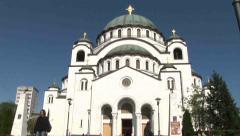 Church, Tilt Shot Stock Footage