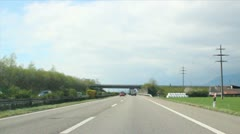 Roads through Switzerland Stock Footage