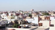 Stock Video Footage of Children flying kites over the rooftops of Jaipur, India