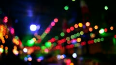 colorful moving lights pt1 - stock footage