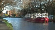 Boat on the Grand Canal (2/2) Stock Footage