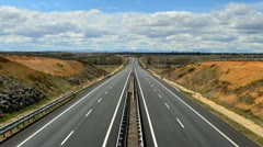 Stock Video Footage of Highway time lapse