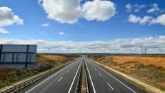 Highway time lapse 4k Stock Footage