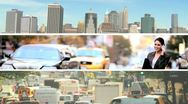 Montage images, New York, USA Stock Footage