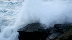 Crashing Waves - stock footage