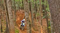 Motocross dirt bike racing 25 Stock Footage