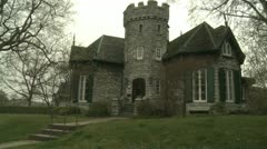 Castleinthefog Stock Footage