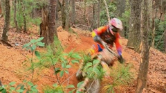 Motocross dirt bike racing 22 Stock Footage